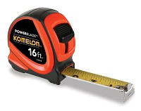 Komelon 51416ABS Powerblade 11/16 In X 16Ft tape measure