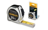 Komelon 410 The Professional Chrome Case 5/8in X 10Ft Tape Measure