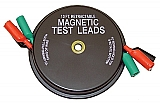 Kastar 1135 Magnetic Retractable Test Leads- 3 Leads x 10-ft.