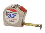 "Lufkin 2133D 1"" x 33' Engineer's Series 2000 Power Return Tape"