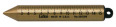 Lufkin 590GM 20 oz Plumb Bob, Solid Brass, Graduated in Millimeters and Centimeters
