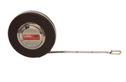 "Lufkin C213D 3/8"" x 50' Engineer's Anchor Chrome Clad Tape"