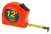 "Lufkin HV1012 1/2"" x 12' Hi-Viz Orange Series 1000 Power Tape"