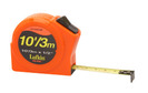 "Lufkin HV1023CME 13mm (1/2"") x 3m (10') Hi-Viz Orange Series 1000 Power Tape"