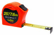 Lufkin HV1048DM 25mm x 8m Engineer's Hi-Viz Orange Series 1000 Power Tape