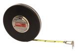 "Lufkin HW223D 3/8"" x 50' Engineer's Banner Yellow Clad Tape"