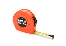 "Lufkin L610CME 1/2""(13mm) x 10'(3M) Hi-Viz Orange Power Return Tape"