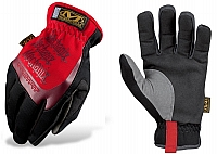 Mechanix Wear MFF-02-008 FastFit Racing Gloves, Red, Pr, Small