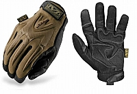 Mechanix Wear MPT-72-009 M-Pact Gloves, Coyote, Pr, Medium