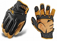 Mechanix Wear CG30-75-008 CG Impact Protection Glove, Black/Leather, Pr, Small