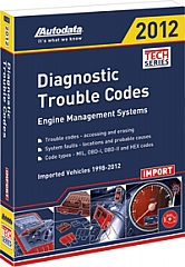 Autodata ADT12-350 2012 Import Trouble Code Manual at Sears.com