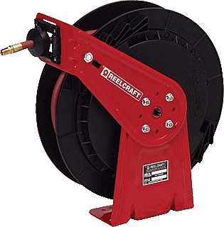 "Reelcraft RLC RT650-OLP 3/8"" x 50' General Duty Air/Water Hose Reel at Sears.com"