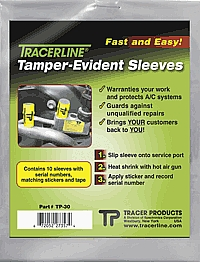 Tracer Products DY TP-30 10 Pc. Tamper-Evident Sleeves at Sears.com
