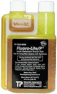 Tracer Products DY TP-3820-0008 Fluoro-Lite R134a/PAG Bottled Dye, 8 oz at Sears.com
