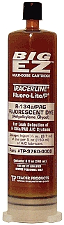 Tracer Products DY TP-9760-0108  BigEZ 8 oz R134a/PAG Dye Cartridge at Sears.com