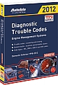 Autodata ADT12-340 2012 Domestic Trouble Code Manual
