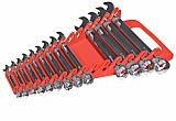 Ernst ERN5088 15 Tool Gripper Wrench Organizer - Red