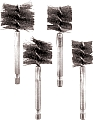 Ipa IPA8037 4 Pc. Stainless Steel XL Bore Brush Set