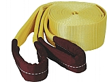 """K Tool International KTI73811 Tow Strap with Looped Ends - 3"""" x 30'"""