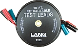 Lang LNG1129 x10' Retractable Test Lead Set