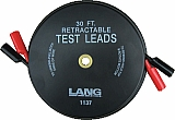Lang LNG1137 2'x30' Retractable Test Lead Set