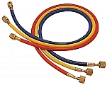 Mastercool MC45372 3 Pc. R12 Charging Hoses - 72""