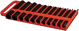 "Lisle LS40900 1/2"" Magnetic Socket Holder, Red"