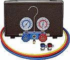 Mastercool MC89661 R134a Auto A/C 2-Way Manifold Gauge Set