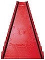 Protoco PRO4020 15 Pc. Reversed Wrench Rack, Red