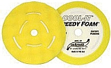 "Sm Arnold SMA44-068 2 Pk. 8"" Yellow Foam Cool It Waffle Style Buffing Pad"
