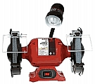 "Sunex SX5002A 8"" Bench Grinder with Light"