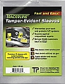 Tracer Products DY TP-30 10 Pc. Tamper-Evident Sleeves