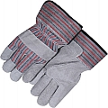 Majestic Gloves MJG3501C/10 Split Work Glove, Safety Cuff Size 10
