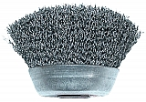 "Crimped 3"" Wire Cup Brush"