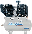 12 HP Gas Two Stage Compressor 30 Gallon Horizontal Tank