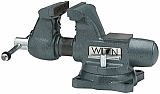 "Tradesman 5-1/2"" Round Channel Vise with Swivel Base"