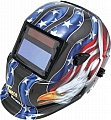 WeldSkil Auto-Dark Helmet - Patriot Eagle
