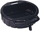 4.5 Gallon Oil Drain Pan, Black