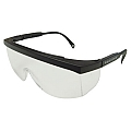 Radians Galaxy GX0110ID Clear Lens - Black Frame Safety Glasses