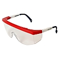 Radians Galaxy GX0510ID Clear Lens - RWB Frame Safety Glasses
