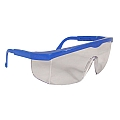 Radians Shark B7800-C Clear Lens - Blue Frame Safety Glasses