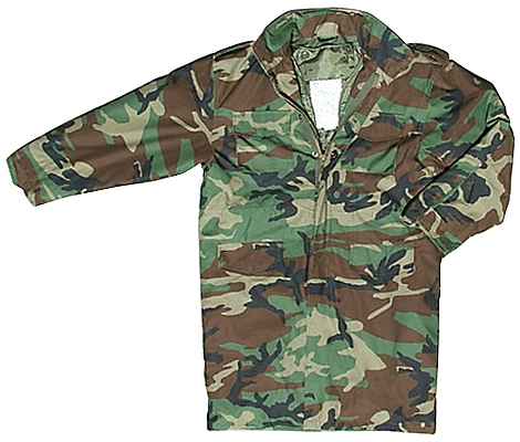 ca00692943654 Rothco 5235 Ultra Long Woodland Camouflage M-65 Field Jacket-6XL ...