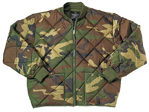 Rothco 7171 Camouflage Diamond Quilted Flight Jacket 4xl