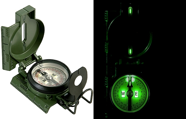 Rothco G.I. O.D. Military Tritium Lensatic Compass at Sears.com