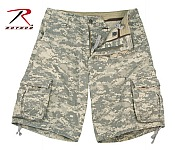 Rothco 2522 Vintage Army Digital Camo Infantry Utility Shorts-3XL