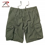 Rothco 2160 Olive Drab Vintage Paratrooper Cargo Shorts