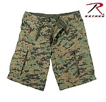Rothco 2594 Woodland Digital Camo Vintage Cargo Shorts-3XL