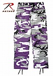 Rothco 7927 Ultra Violet Camouflage BDU Pants-3XL