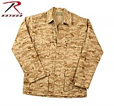 Rothco 8894 Desert Digital Camo BDU Shirt-3XL