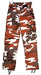 Rothco 7918 Red Camouflage BDU Pants-3XL